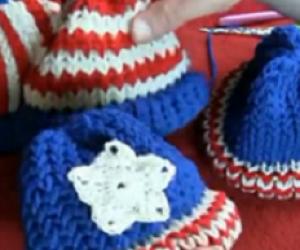 Free loom knitting hat pattern