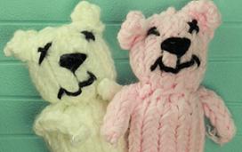 Loom Knit A Bear