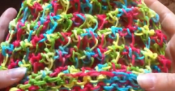 Loom Knit Three Step Stitch