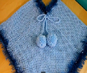 How To Loom Knit A Poncho