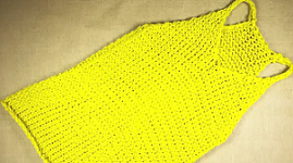 Loom Knit  a Tank Top