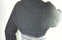 Loom Knit A Shrug