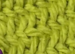 Herringbone Knit Stitch Bind Off : Loom Knit The Herringbone Stitch   Loom Knitting Videos