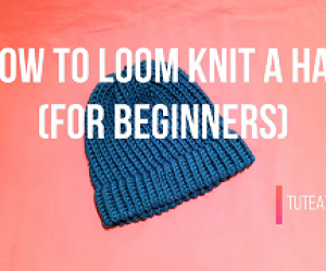 Learn To Loom Knit A Hat - Beginners