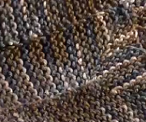 Loom Knit A 10 Stitch Blanket