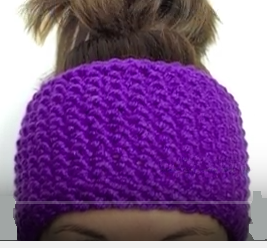Loom Knitting Pattern Headband : How To Easily Loom knit A Seed Stitch Headband   Loom Knitting Videos
