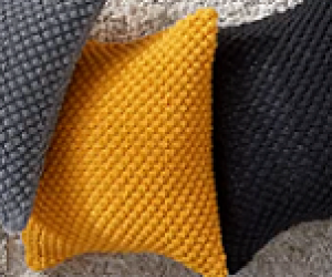 Loom Knit The Trinity Stitch a.k.a The Raspbeyy Stitch