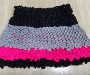 Loom Knit a Skirt - An easy loom knit pattern
