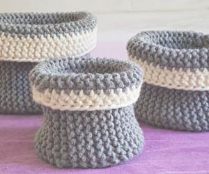 How to Loom Knit Round Baskets (DIY Tutorial) 0-17 screenshot